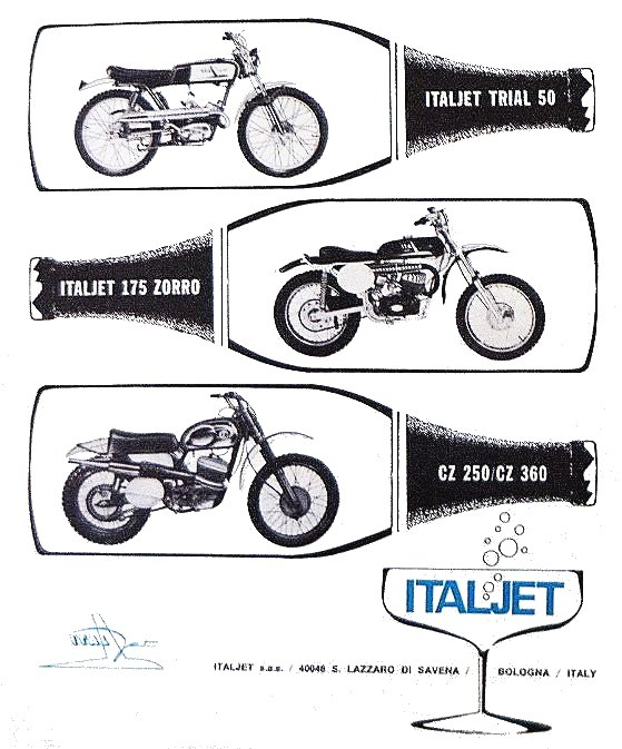 Folder trialmotoren