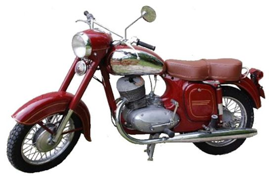 Jawa 250cc 353/07 Supersport