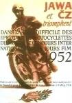1952_Jawa_CZ_Motorcycle_Poster